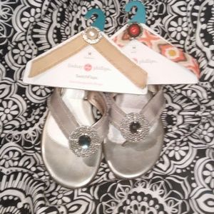 LINDSEY PHILLIPS SWITCH FLOPS/2 extra . size 8